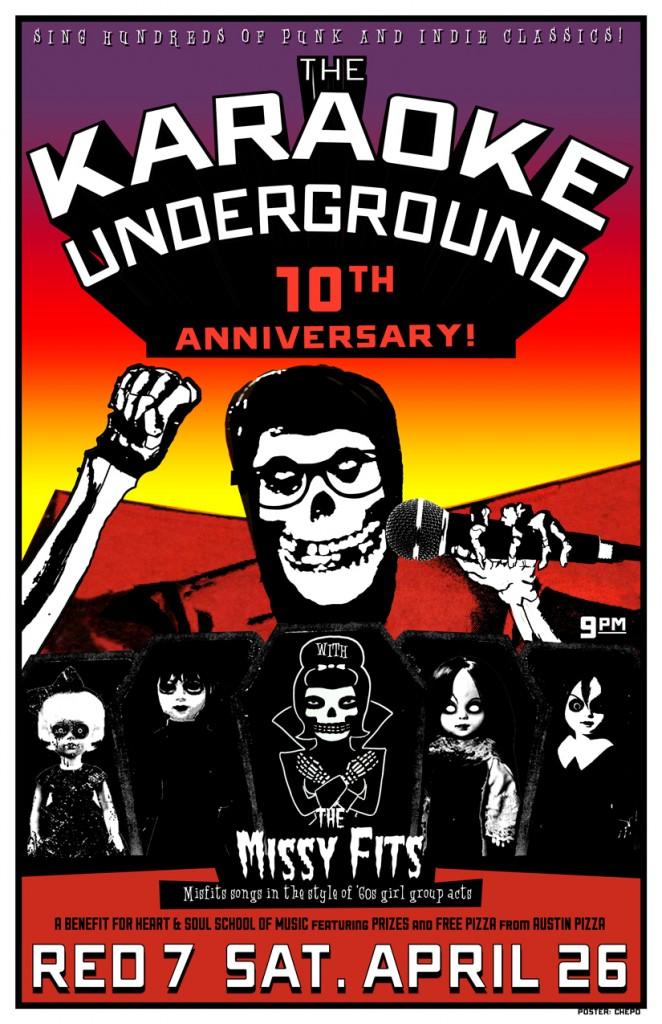 Karaoke-Underground-Poster